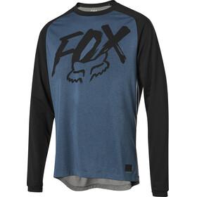 Fox Ranger Dri-Release Fox Bike Jersey Longsleeve Men blue/black